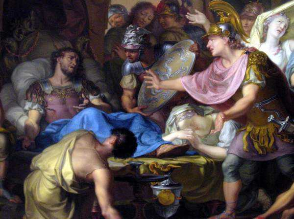 смерть Македонского